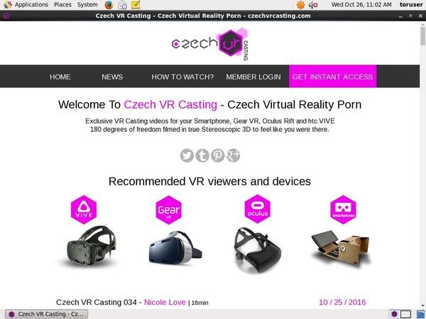 Czech VR Casting Cash