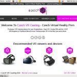 Czech VR Casting Member Discount