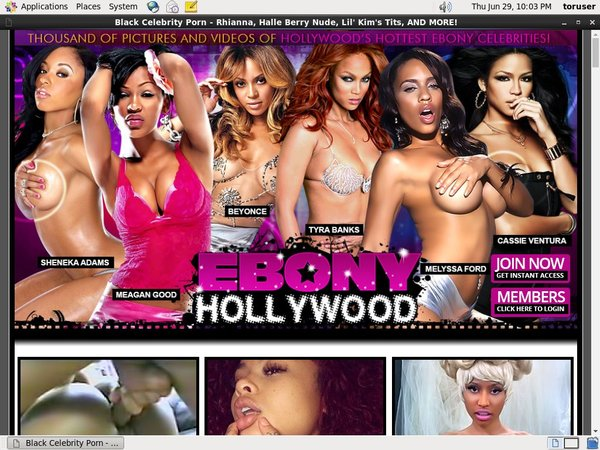 Ebony Hollywood Paysite Review