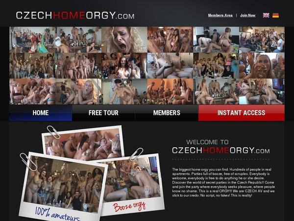 Free Czech Home Orgy Account Logins