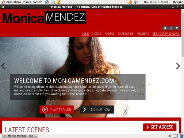Monica Mendez With Trial