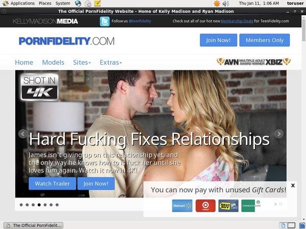 Porn Fidelity Discounts