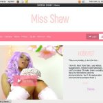 SHEENA SHAW Without Paying