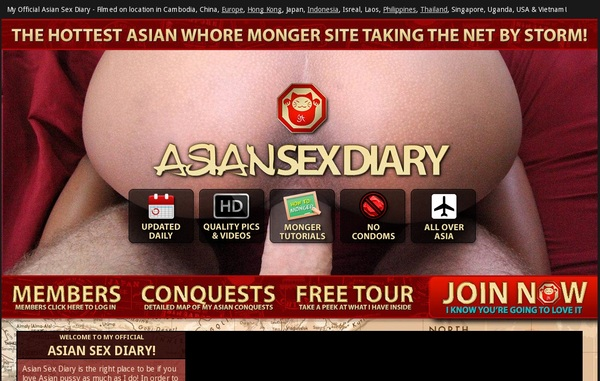 User Asian Sex Diary