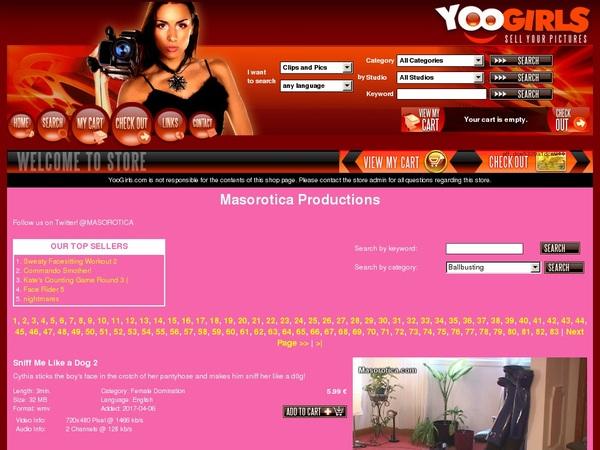 MasoroticaProduction Create Account