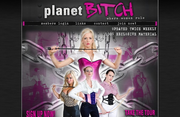 Planet Bitch Join Form