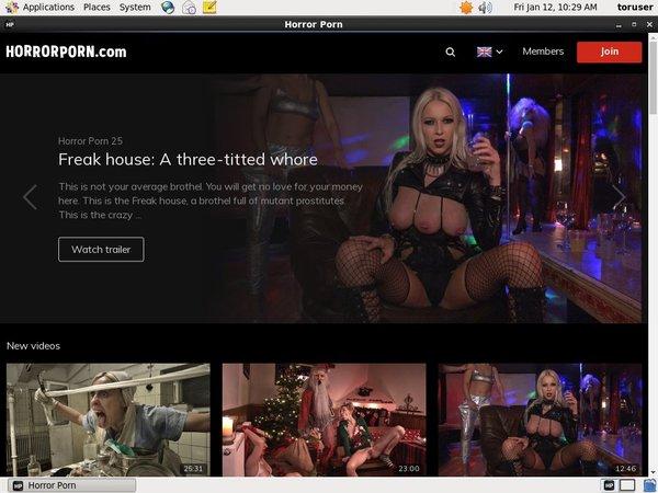 Free Horrorporn.com Video
