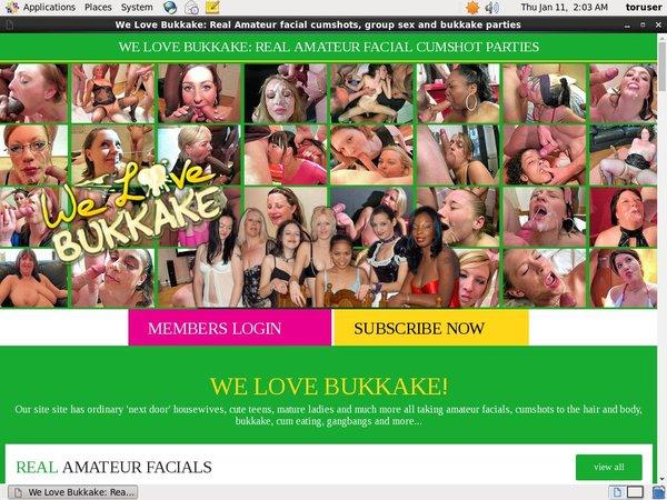 Welovebukkake.com Update