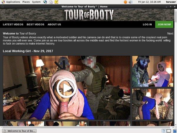 Trial Tourofbooty.com Membership
